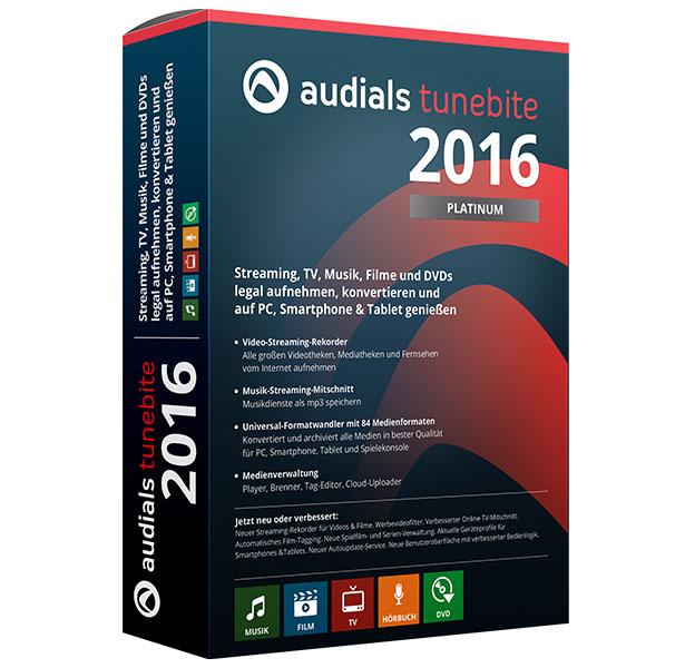 Audials Tunebite 2016 Platinum