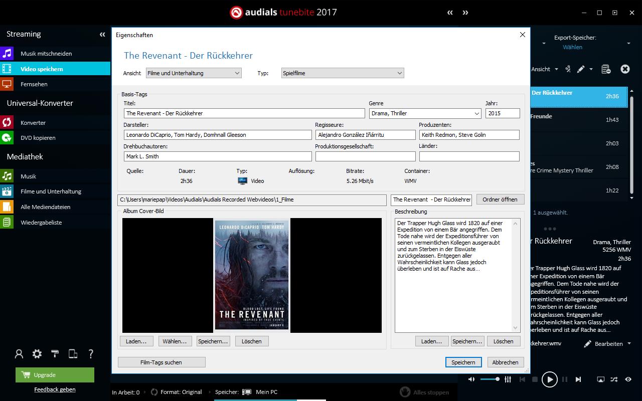 Tunebite - Geschützte Musik, Filme und DVDs legal