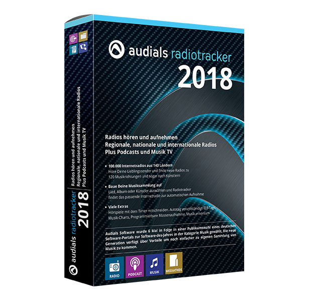 Audials Radiotracker 2018