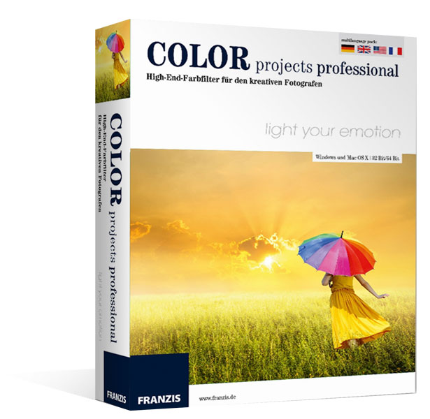 Color projects professional für Mac®