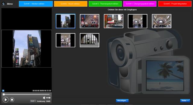 Verwandeln Sie Ihre Fotos in kreative Diashows - einfach & hochauflösend!