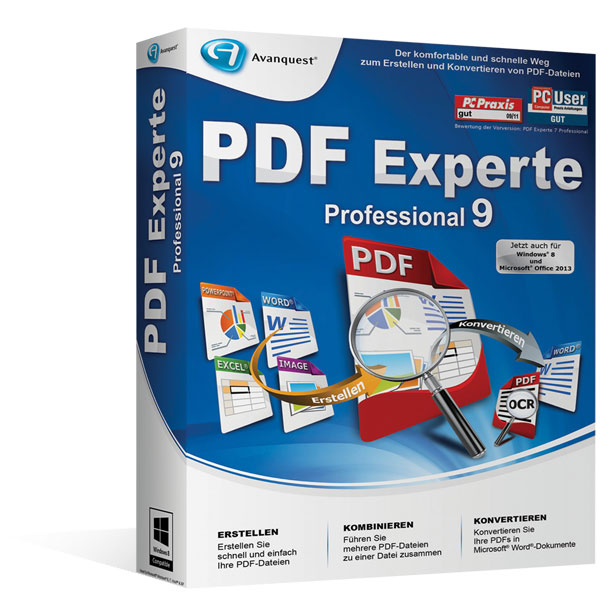 PDF Experte 9 Professional - Upgrade-Version