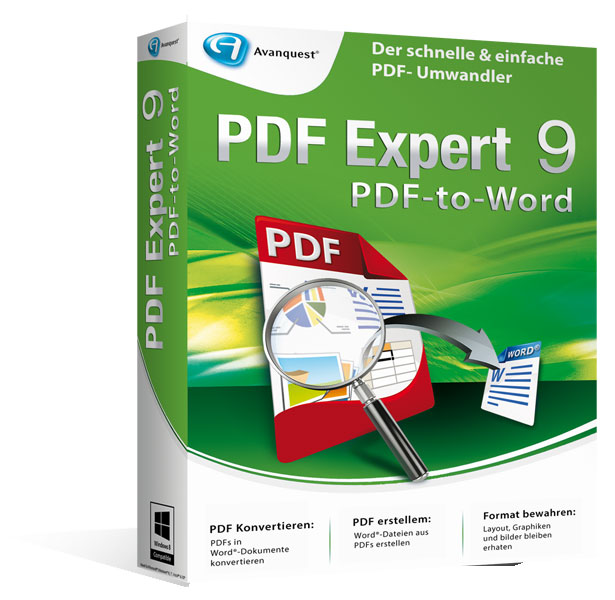 PDF Experte 9 PDF-to-Word