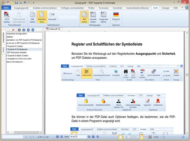 Der professionelle PDF-Manager - jetzt auch für PDF/A-Dateien!