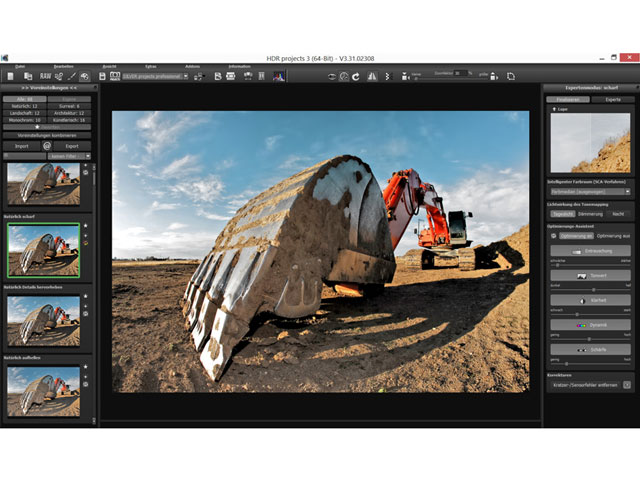 La solution optimale pour toutes vos photographies HDR