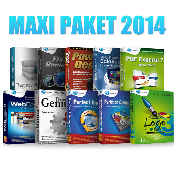 Maxi Paket 2014 - Limited Edition