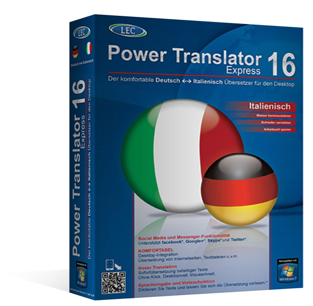 Power Translator 16 Express Deutsch - Italienisch