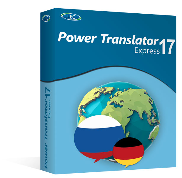 Power Translator 17 Express Deutsch-Russisch