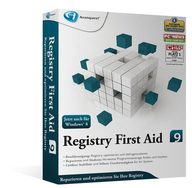 Registry First Aid 9 Upgrade - Version