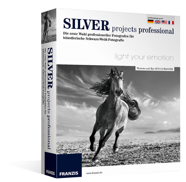 Silver projects professional für Mac®