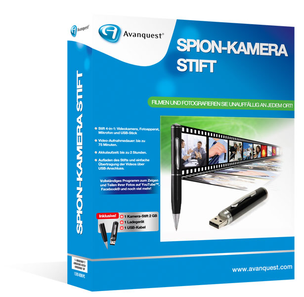 Spion-Kamera Stift