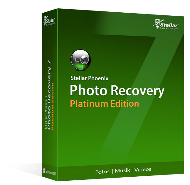 Photo Recovery 7 Platinum für Windows®