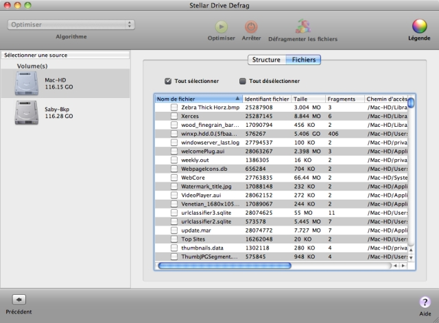 Accélérez la vitesse daccès à vos données et les performances système en défragmentant vos fichiers !