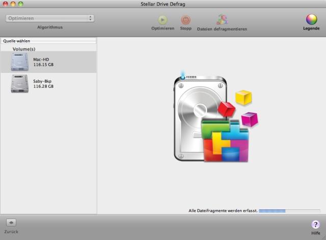 Beschleunigen Sie die Systemleistung Ihres Mac durch optimale Defragmentierung