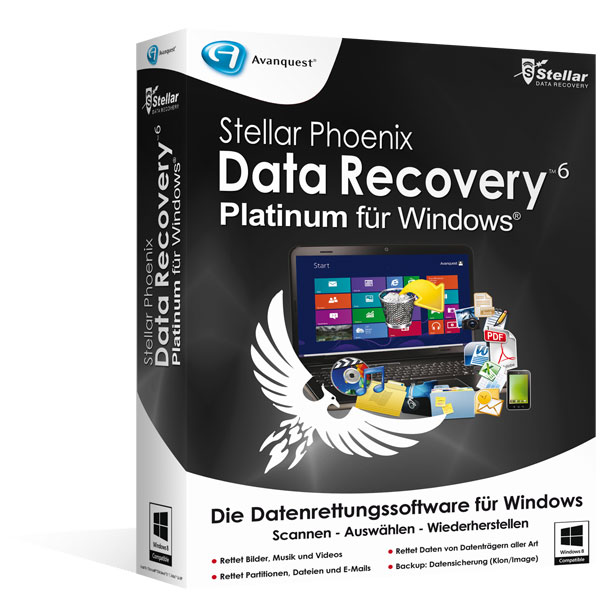 Stellar Phoenix Data Recovery 6 für Windows - Platinum Edition