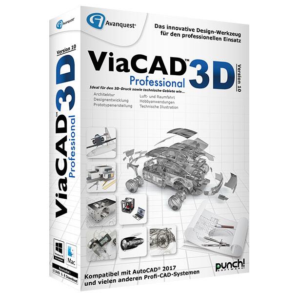 ViaCAD 3D 10 Professional für Mac