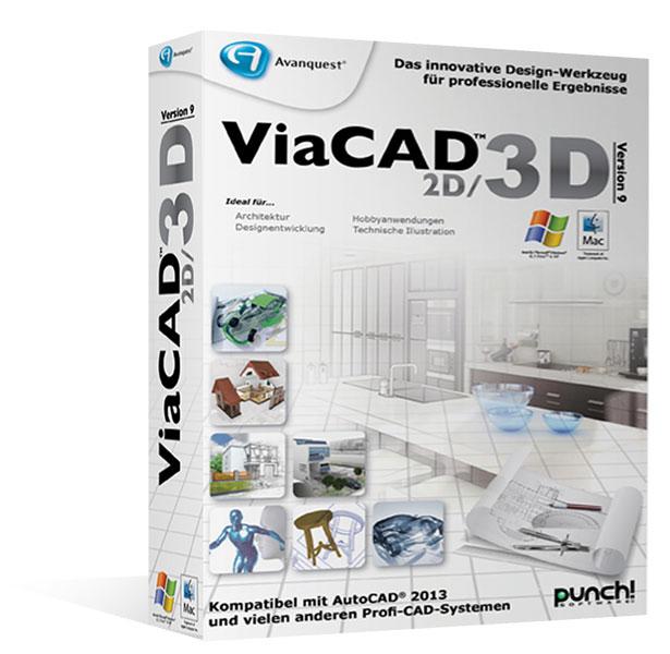 ViaCAD 2D/3D 9 für Mac