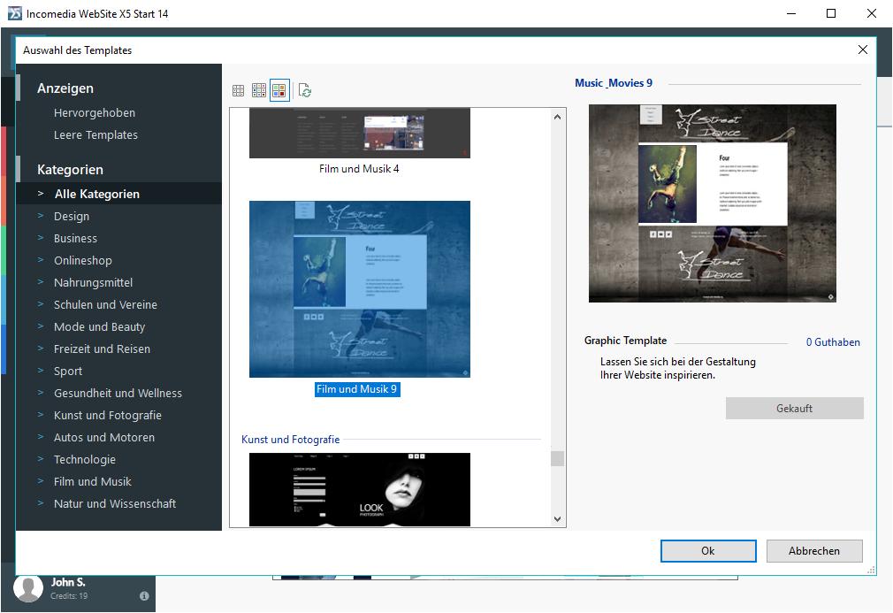 WebSite X5 Start 14: Ideal für jeden Anspruch