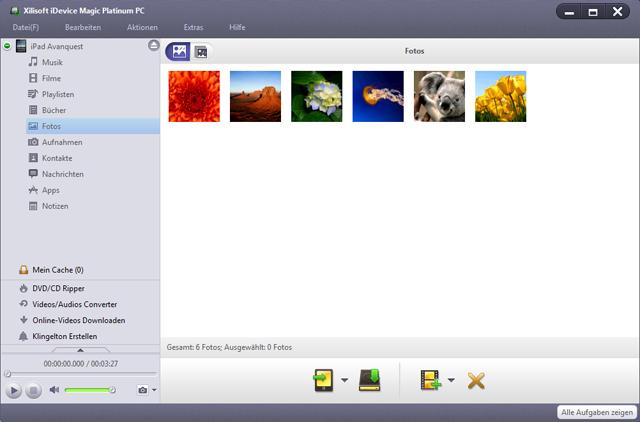 Noch nie war das Konvertieren, Organisieren und Teilen von Dateien zwischen iPad, iPhone, iPod und Mac® so einfach!