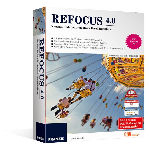 Refocus 4.0 für Mac®