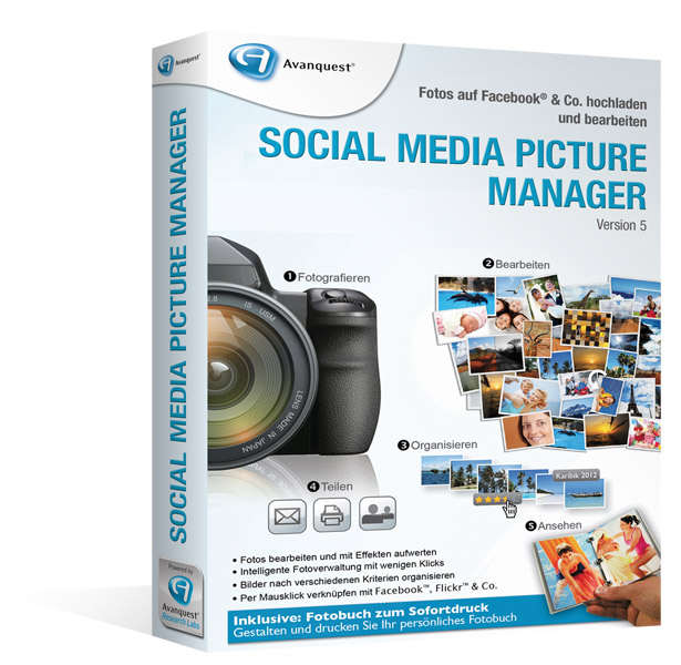Social Media Picture Manager