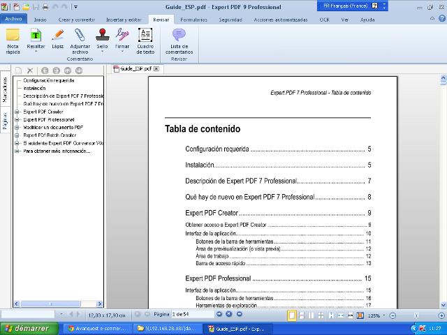 Crea, edita y convierte archivos PDF
