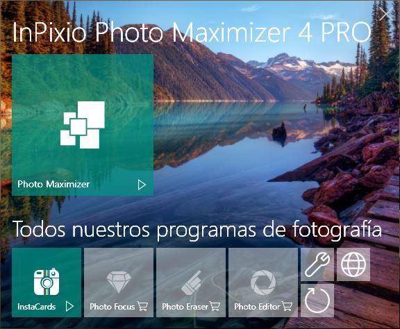 ¡Descubra las posibilidades de Photo Maximizer!