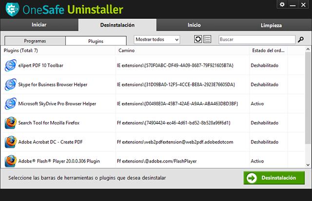 ¡Desinstala de manera simple y eficaz todos los programas y archivos inútiles!