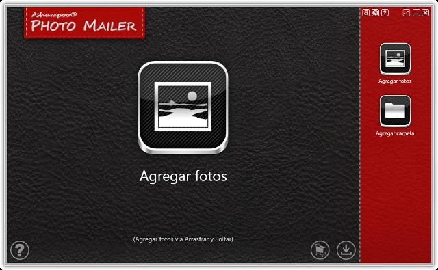 La forma más fácil de compartir fotos a través de email.