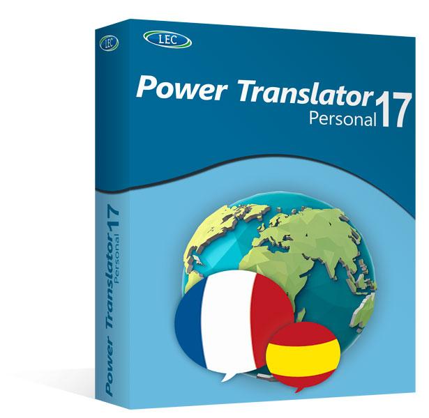 Power Translator 17 Personal - Español/Frances