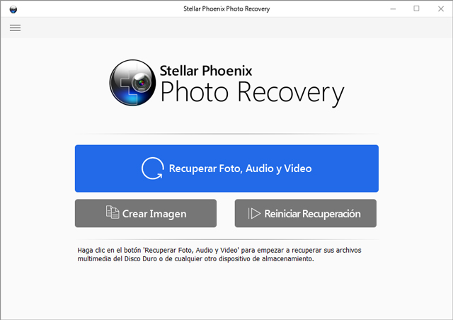 ¡Recupera tus fotos eliminadas o perdidas!
