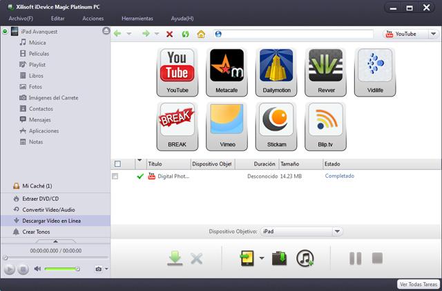 ¡Convertir, organizar y compartir archivos entre iPad, iPhone, iPod y un ordenador nunca había sido tan fácil!