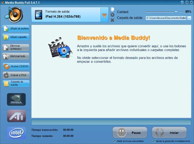 ¡Convierta sus archivos de audio y vídeo más rápido que nunca!