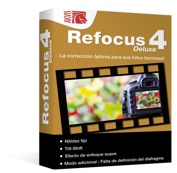 Refocus 4 Deluxe - Mac