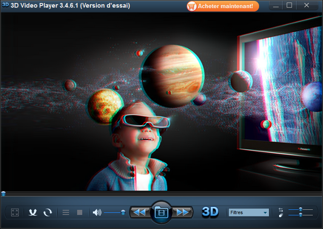 La vidéo 3D comme au cinéma.