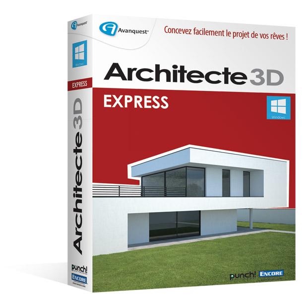 Architecte 3d express 2015 le logiciel d 39 architecture 3d for Architecte 3d express