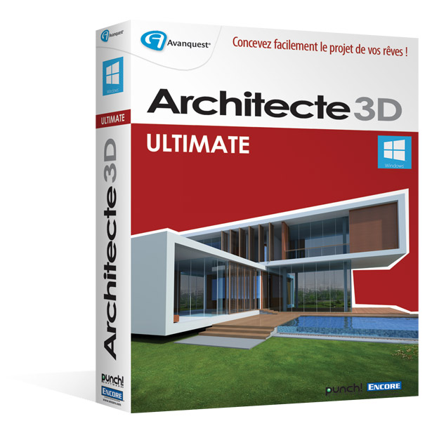 architecte 3d ultimate 2015 le logiciel ultime d. Black Bedroom Furniture Sets. Home Design Ideas