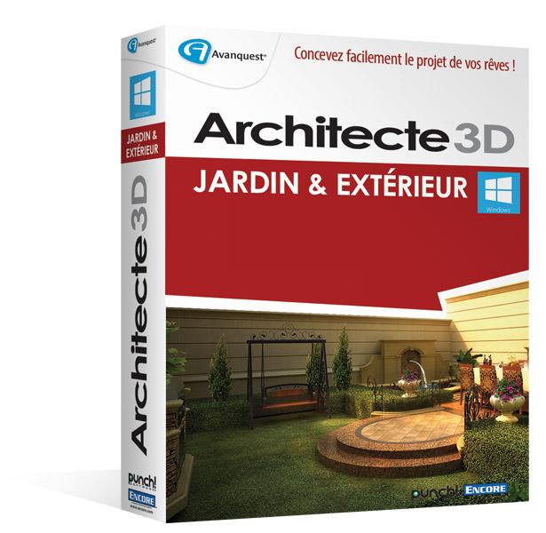 Architecte 3d jardin et ext rieur 2015 v17 6 planifiez for Architecte exterieur jardin