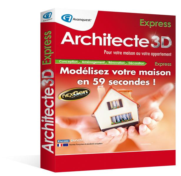 Architecte 3d express 2014 le logiciel d 39 architecture 3d for Architecte 3d express