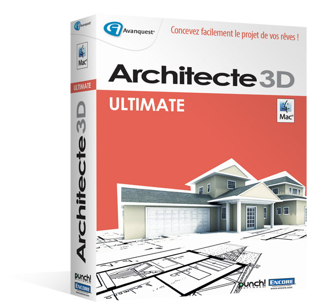 Architecte 3D pour Macintosh® - Ultimate Edition 2015 (V17.5)
