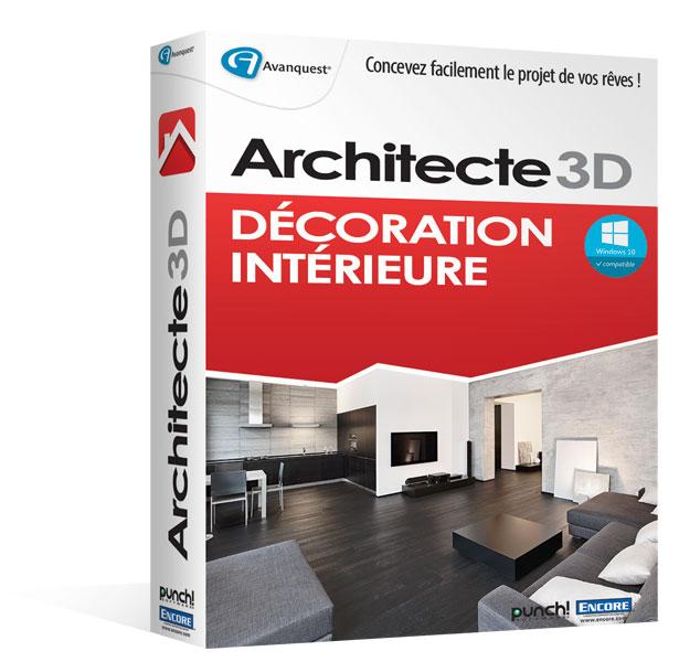 Architecte 3D Déco Intérieure 2016 (V18) - Windows
