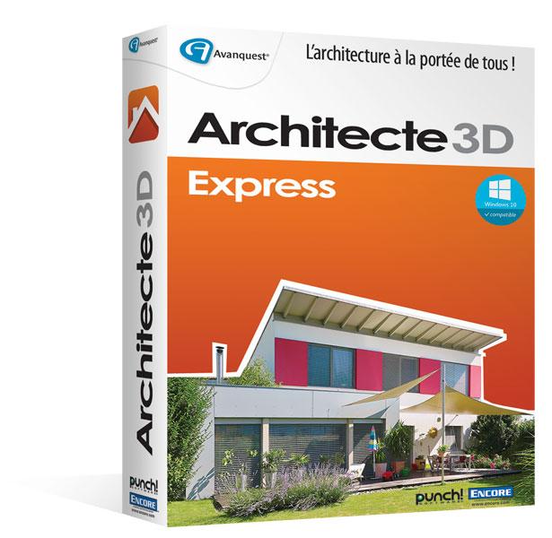 architecte 3d express 2016 le logiciel d 39 architecture 3d pour concevoir votre maison ou votre. Black Bedroom Furniture Sets. Home Design Ideas