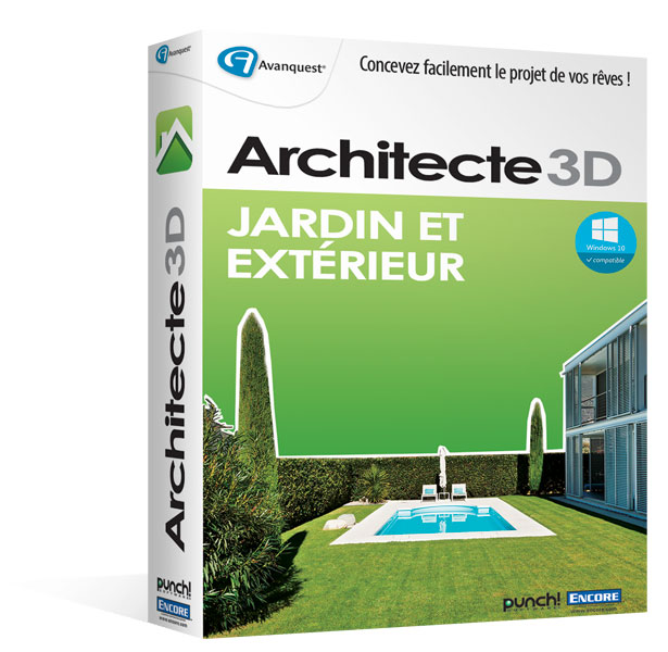 Architecte 3d jardin et ext rieur 2016 v18 planifiez for Architecte 3d v18