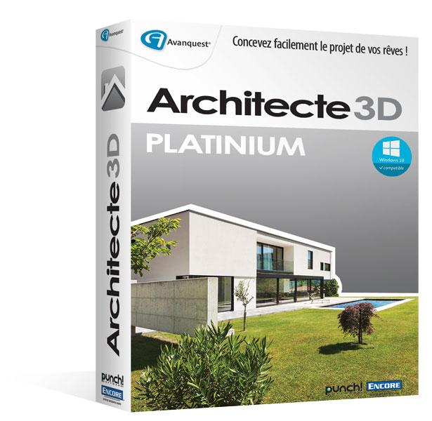 Architecte 3D Platinium 2016 (V18)