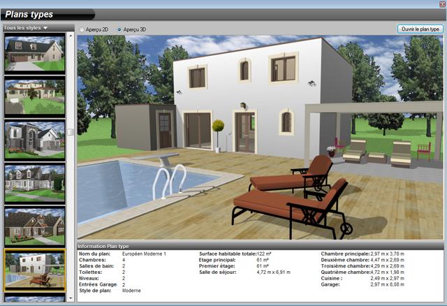 Architecte 3d platinium 2017 le logiciel ultime d for Concevez et construisez votre propre maison en ligne