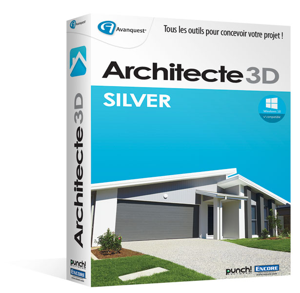 Architecte 3d silver 2016 le logiciel d 39 architecture 3d for Architecte 3d video