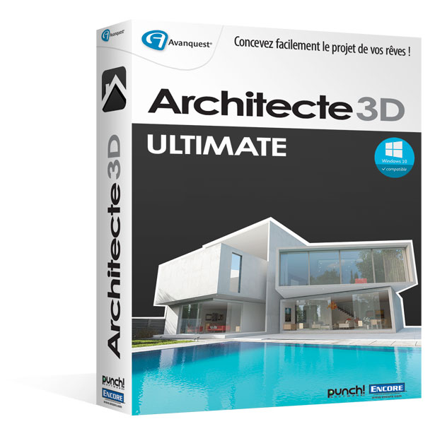 Architecte 3d ultimate 2016 le logiciel ultime d for Architecte 3d v18