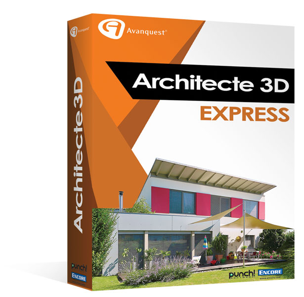 architecte 3d express 2017 le logiciel d 39 architecture 3d. Black Bedroom Furniture Sets. Home Design Ideas