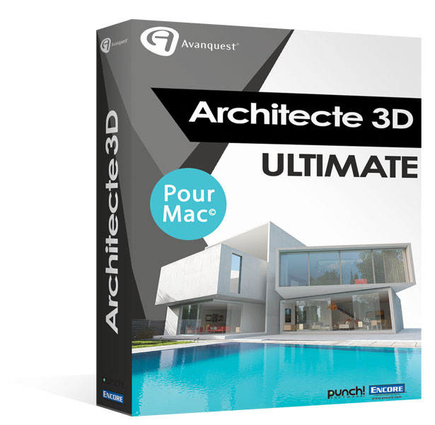 Architecte 3D Ultimate 2017 (V19) - MAC