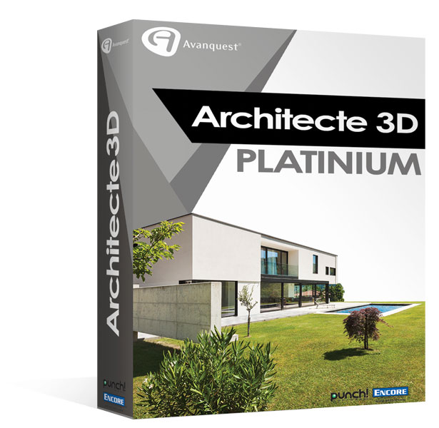 architecte 3d platinium architecte 3d platinium 2013 v17. Black Bedroom Furniture Sets. Home Design Ideas